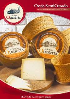 Cheese La Antigua Queseria, Semicurado