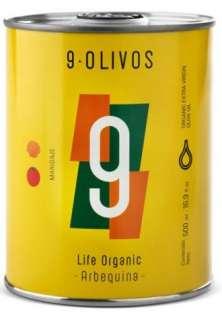 Olive oil 9-Olivos, Arbequina