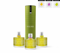 Olive oil 9-Olivos, pack cata Green Flavours
