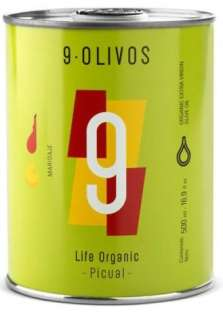 Olive oil 9-Olivos, picual