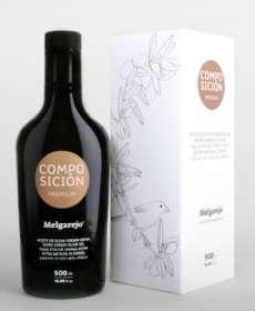 Olive oil Melgarejo, Premium Composición
