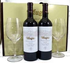 Red wine 2 Muga  Selección Especial con 2 copas Riedel