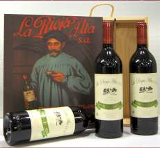 Red wine 3 Reserva 904  en caja de madera