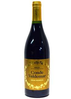 Red wine Conde de Valdemar
