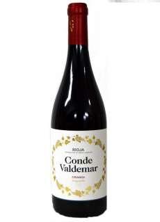 Red wine Conde de Valdemar