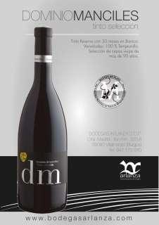 Red wine Dominio de Manciles, Selección Especial