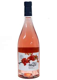 Red wine Flor de Muga Rosado