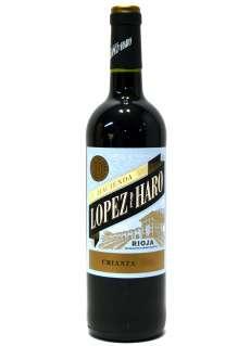 Red wine Hacienda López de Haro