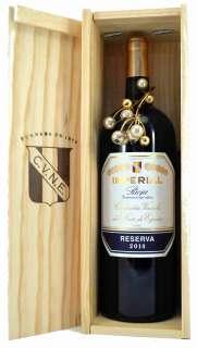 Red wine Magnum Imperial  en caja de madera