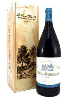 Red wine Magnum Viña Ardanza  en Madera