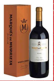 Red wine Marqués de Murrieta  en caja de cartón (Magnum)