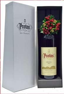 Red wine Protos  Magnum en caja de cartón