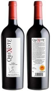Red wine Quixote MBCF 2009