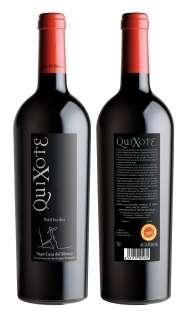 Red wine Quixote PV 2009