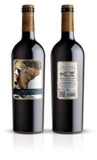 Red wine TRIS TRAS