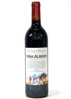 Red wine Viña Alberdi