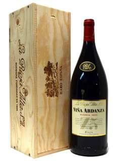 Red wine Viña Ardanza  en caja de madera (Magnum)