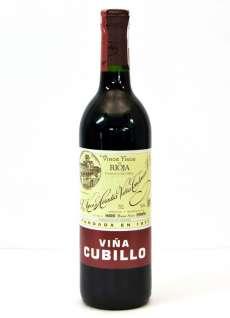Red wine Viña Cubillo