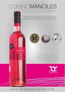 Rosé wine Dominio de Manciles, Rosado