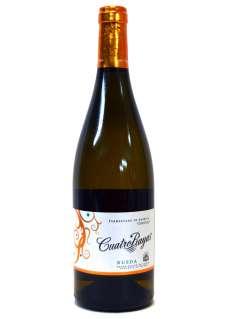 White wine Cuatro Rayas Fermentado Barrica