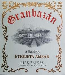White wine Granbazan Etiqueta Ambar