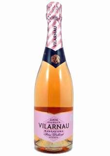 White wine Vilarnau Rose