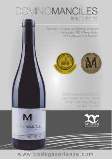 Wine Dominio de Manciles, Crianza