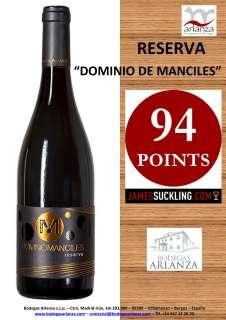 Wine Dominio de Manciles, Reserva