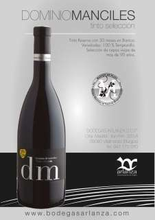 Wine Dominio de Manciles, Selección Especial
