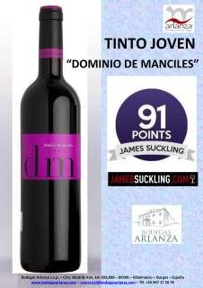 Wine Dominio de Manciles, Tinto Joven